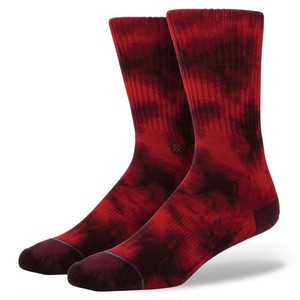 STANCE SOCKS BURNOUT WINE