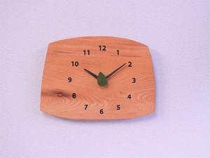 森の掛け時計 ケヤキ