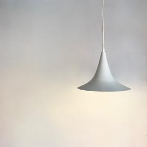 Trumpet Shade Metal Pendant Lamp 70's オランダ