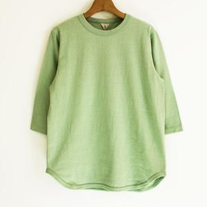 FilMelange (フィルメランジェ) DAVY ダヴィ オーガニックコットン 吊り編み 7分袖Tシャツ
