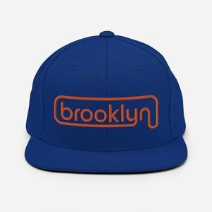 *BROOKLYN INDUSTRIES*綺麗なブルーのキャップ ブルックリンインダストリーズ 日本未入荷