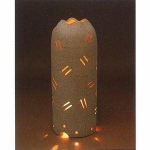 屋外用照明具  陶器(信楽焼)製【SO-9729】