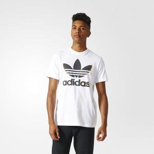 (アディダス オリジナルス) adidas Originals BQ3075 BLUR TREFOIL TEE オリジナルス Tシャツ WHITE