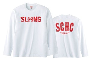 S.C.H.C LOGO : 1【LONG SLEEVE : 白ボディ】