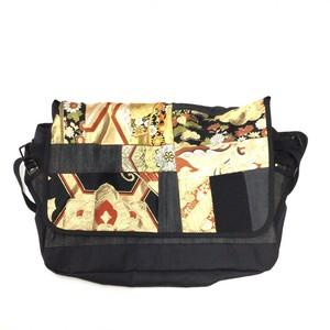 Vintage Kimono Messenger Bag  【messenger12】