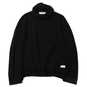 MOHAIR TURTLENECK KNIT (BLACK) / RUDE GALLERY