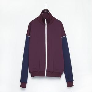 【GEN IZAWA】体操服/ジャージブルゾン(BORDEAUX)