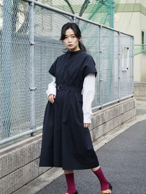 【SALE】NATSUMI ZAMA Explorer Lady Dress navy