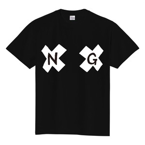乳首NG Tシャツ 黒