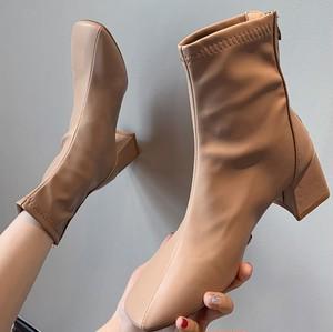 【翌日発送/サイズ限定】Square short boots LD0268