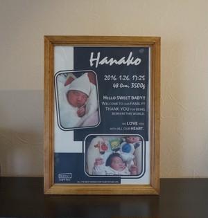 New Baby_オリジナルサインポスター