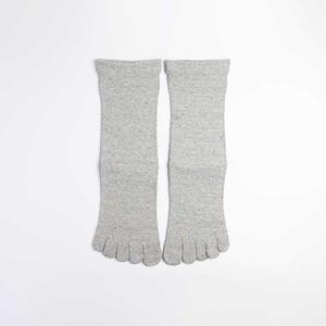 絹の靴下 5本指ソックス〈24〜26cm〉