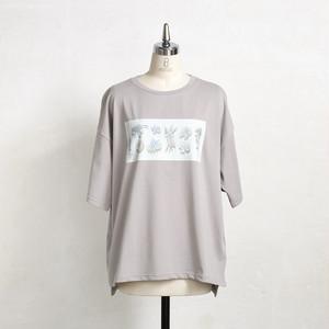【cielkocka】BigTシャツ(花)