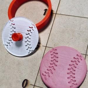 野球ボール クッキーカッター