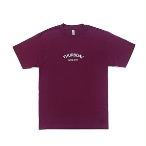 THURSDAY - ARCH TEE (Burgundy)