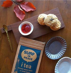 Surfinpeace i tea (海部藍の種茶)