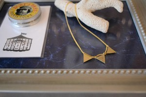 Aquvii / pennant necklace
