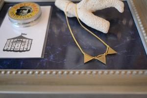 Aquvii / pennant necklace