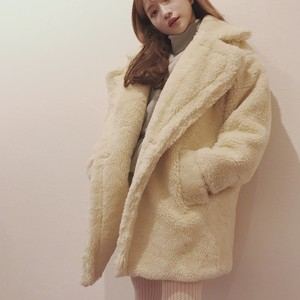 boa big silhouette coat (A18-6016K)