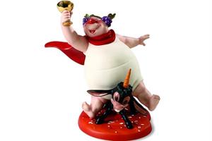 ディズニーフィギュア ファンタジア wdcc わめいているバッカス祭 ディズニー置き物 4008945