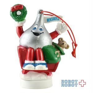 ハーシーズ キスチョコ クリスマスのソリ オーナメント PVCフィギュア