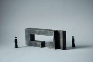 (023)wood figure-mini & construction 箱入 07