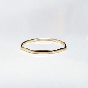 Layered Ring / The Octagon (YG)