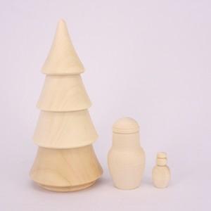 白木ツリー(3個型)