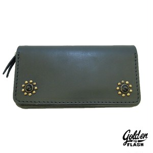 FLOWER STUDS LONG WALLET