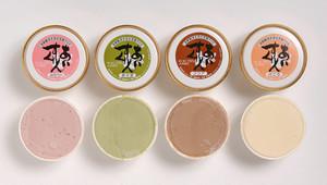 豆富アイスいろいろ8個セット(豆富×2、イチゴ×2、ココア×2、抹茶×2。クール便でお送りします)