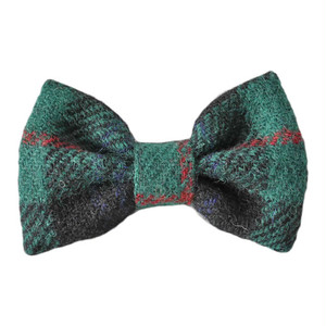 HT bowtie Green check