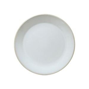 益子焼 つかもと窯 伝統釉 フラット プレート 皿 S 糠白釉 TH-6