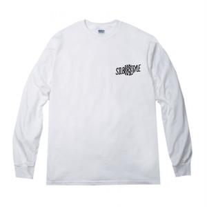 ロゴロングTシャツ【WHITE】