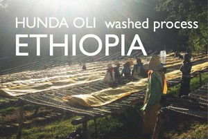 ETHIOPIA 【washed process】 -french- 200g
