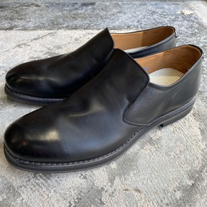 EARLE アール / Drape slip-on / Black