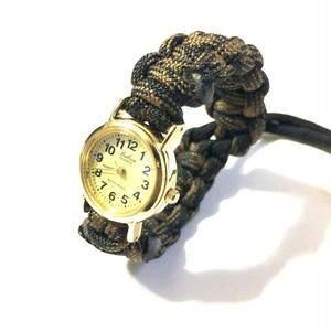 パラコード 腕時計 カモフラージュ