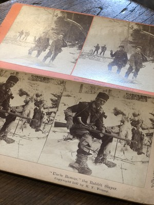 1890s vintage universal stereoscopic view co. USA