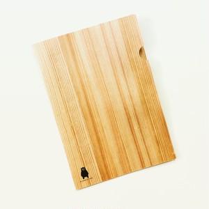 木の香るA4ファイル - くまモンver.