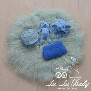 ※送料込み♪【Lu-Lu Baby Propsのセット商品】男の子用4点セット