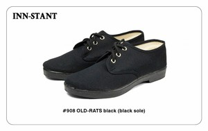 #908 OLD-RATS black (black sole) INN-STANT インスタント 【消費税込・送料無料】