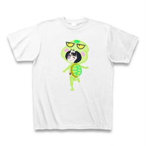 Irieキャラふてガメ姫8サンキューTシャツ