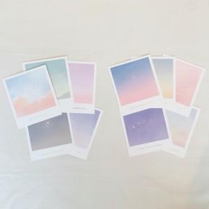 [skyfolio] ミニポストカードセット (5枚/全2種)