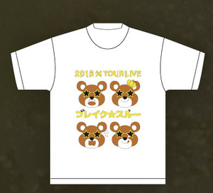 2015 A/WツアーTシャツ