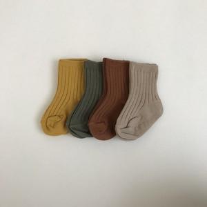 61. color socks / 4piece