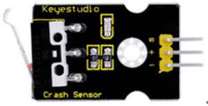 衝突センサーモジュール(Keyestudio製)