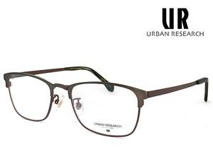 アーバンリサーチ メガネ urf5002-2 URBAN RESEARCH 眼鏡 メタル クラシック 軽量 メンズ スクエア