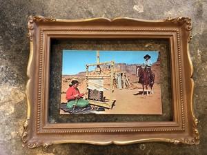 50s ビンテージ  インディアンポストカード ネイティブ・アメリカン USA navajo