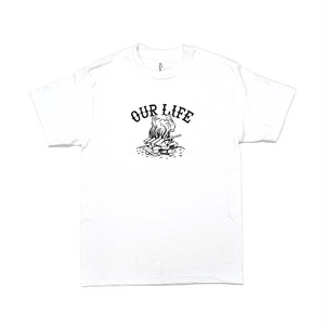 OURLIFE - PALLET LIFE TEE (White)