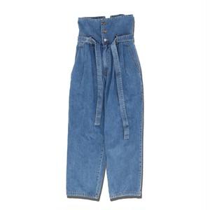 High Waist Denim Pants -INDIGO- / ADANS