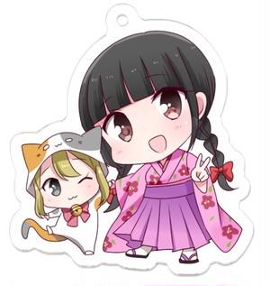 【8/30発売】RINAとコラボぽんぽん アクリルキーホルダー